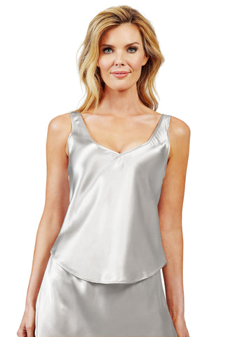 Shadowline Satin Essentials Wide Strap Camisole Tank Top