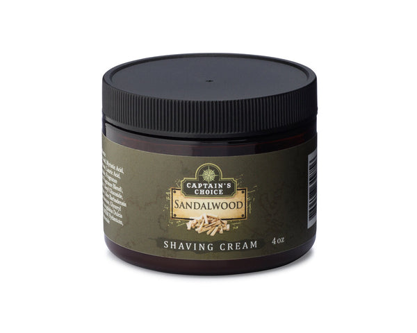 Captain's Choice Sandalwood Shaving Cream