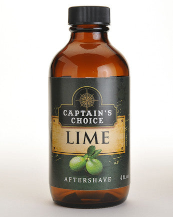 Captain's Choice Lime Aftershave