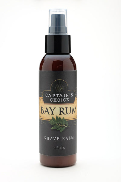 Captain's Choice Shave Balm - Bay Rum