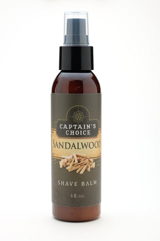 Captain's Choice Shave Balm - Sandalwood