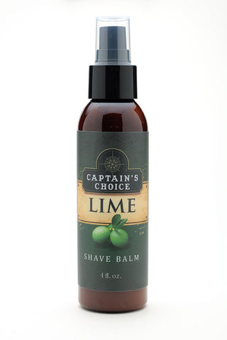 Captain's Choice Shave Balm - Lime