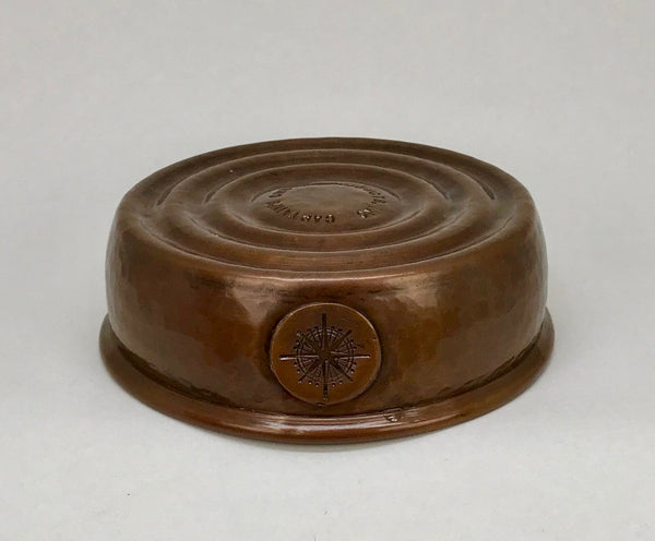 Copper Lather Bowl,  Heavy Weight