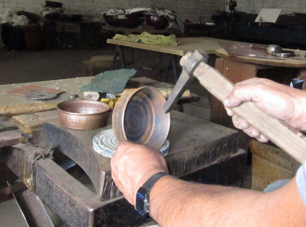 Copper Lather Bowl,  Standard Weight