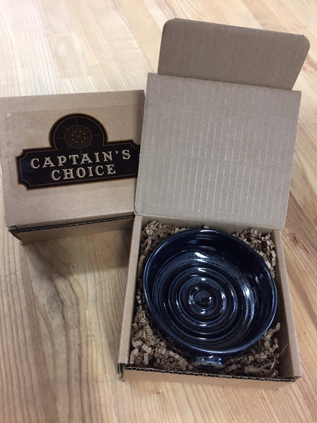 Captain's Choice Original Lather Bowl - Gunmetal