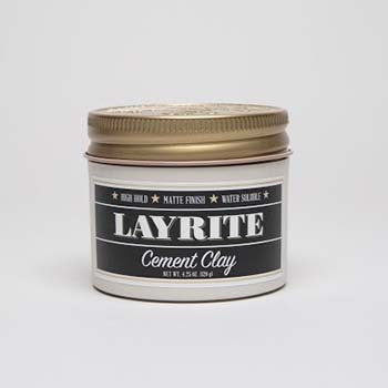 Layrite Cement Hair Clay 4oz