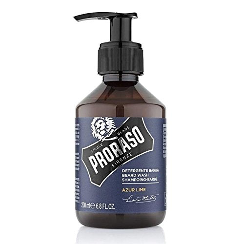 Proraso Single Blade Beard Wash, Azur Lime
