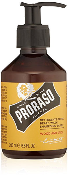 Proraso Single Blade Beard Wash, Wood & Spice