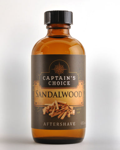 Captain's Choice Sandalwood Aftershave