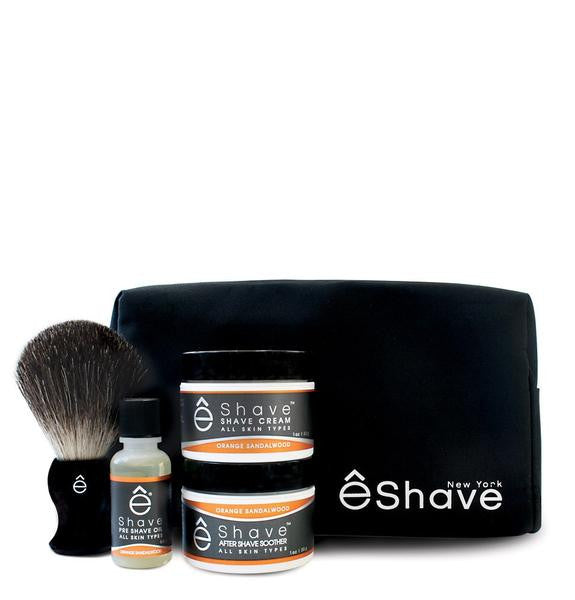 êShave Start Up Kit - Orange Sandalwood