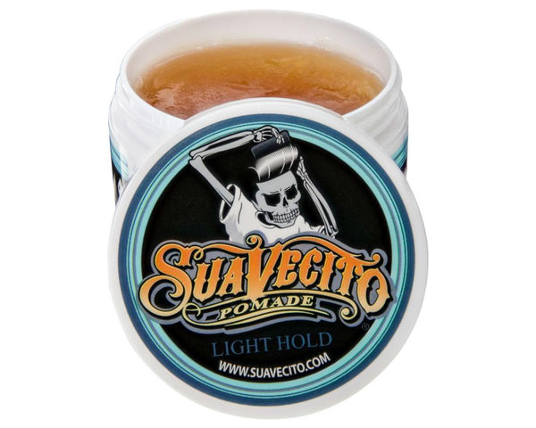 SUAVECITO POMADE LIGHT HOLD, 4OZ CAN