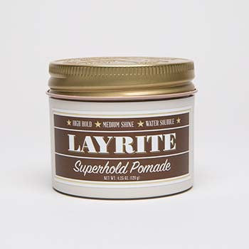 Layrite Super Hold Pomade 4oz