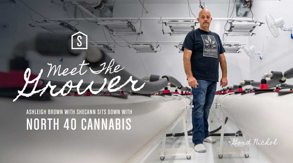 Shelter Cannabis Presents Meet the Grower: Gord Nichol of North 40 Cannabis