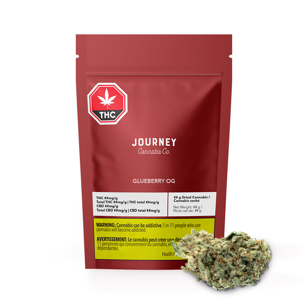 Glueberry OG Dried Cannabis