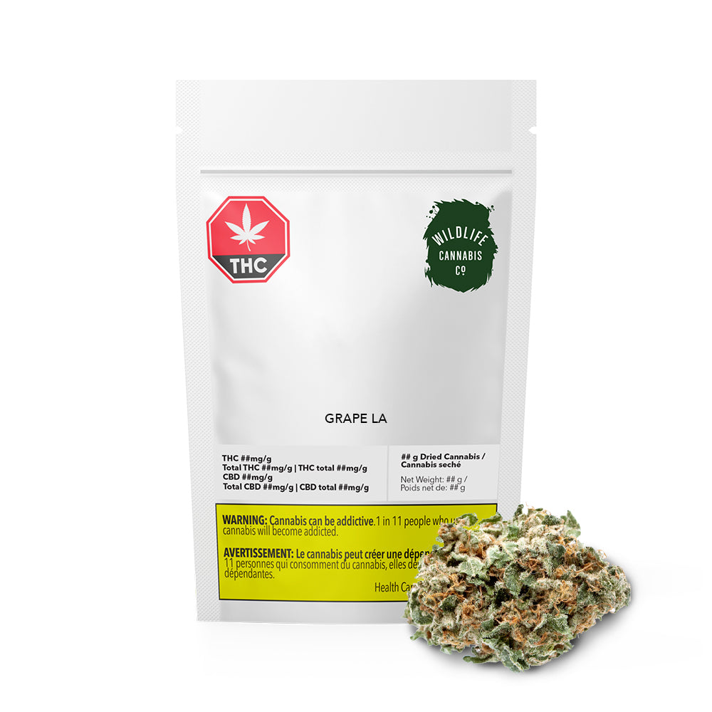 Grape LA Dried Cannabis