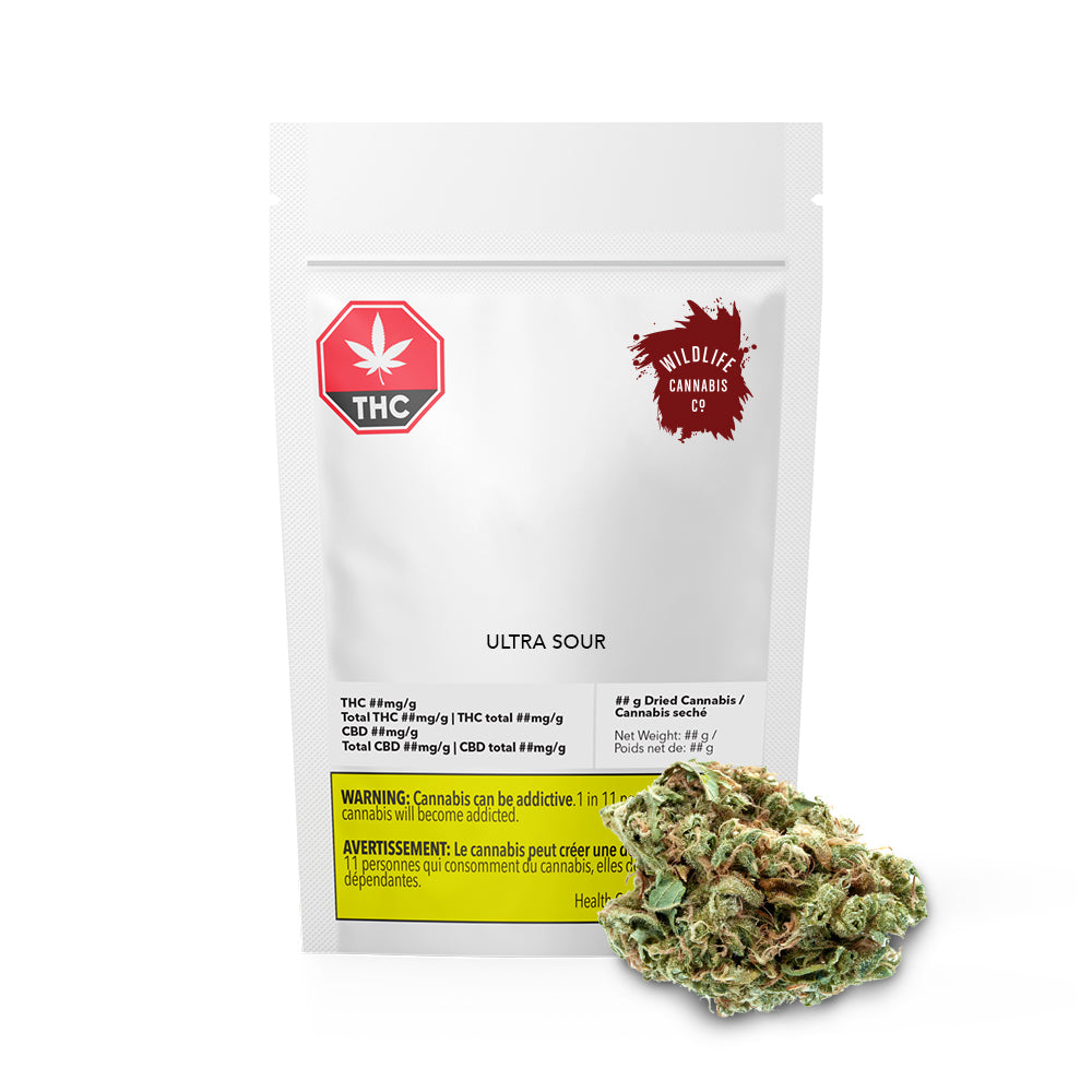Ultra Sour Dried Cannabis