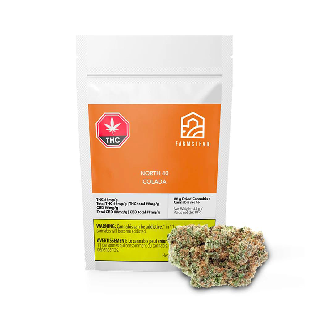 North 40 Colada Dried Cannabis