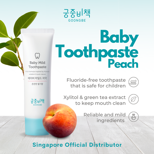 Baby Toothpaste Peach (Pack of 3)