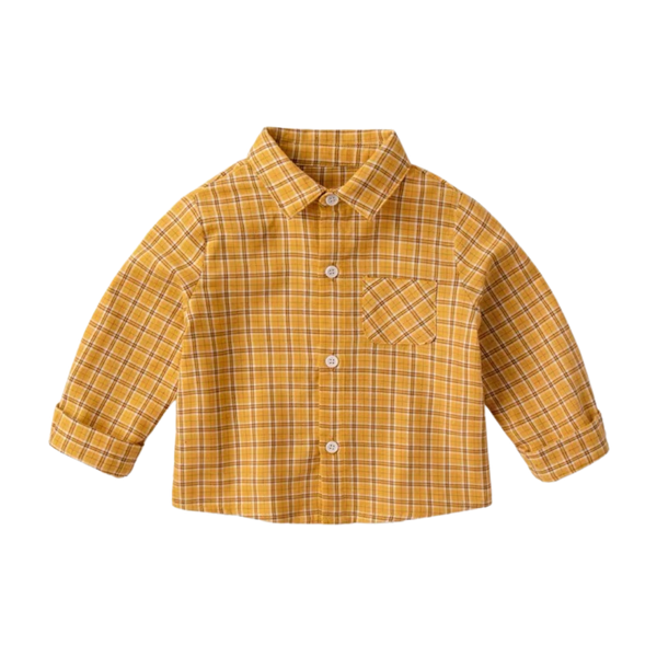 Morgan Shirt Checkered Mustard