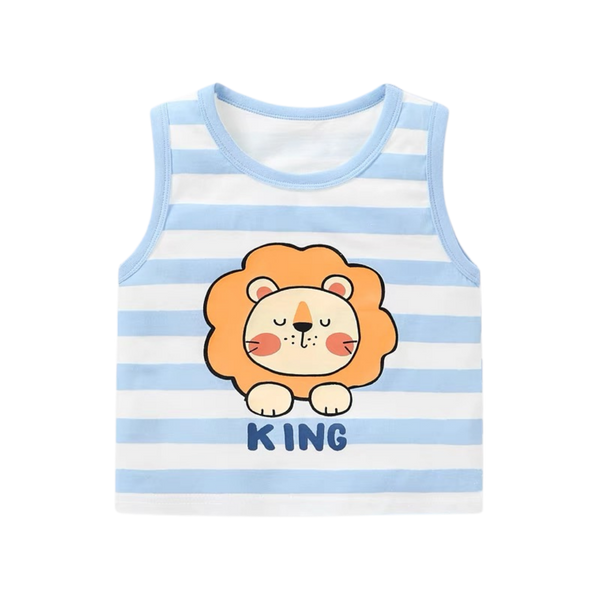 Summer Singlet Little King