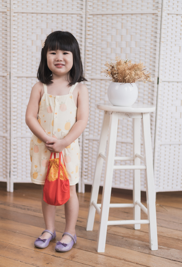 Abundance Huat Girl Pocket Dress