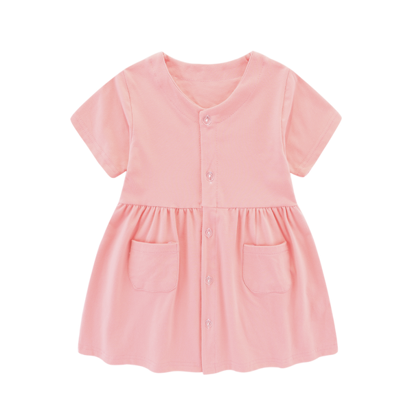 Yule Blush Pocket Dress