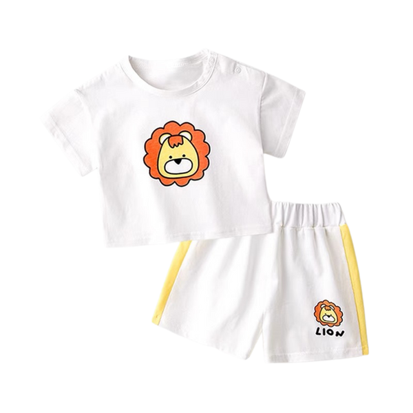 Play Tee Shorts Set Lion