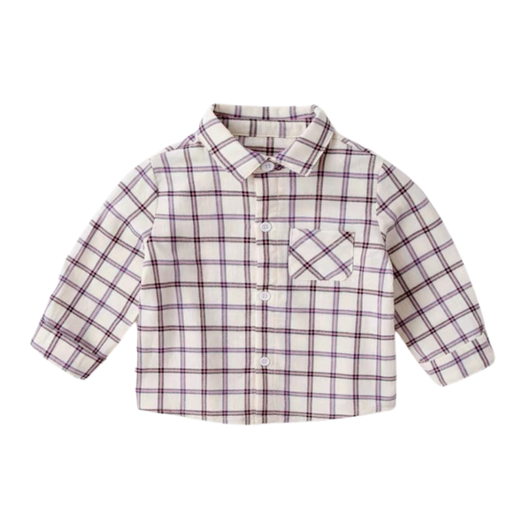 Morgan Shirt Checkered Cross