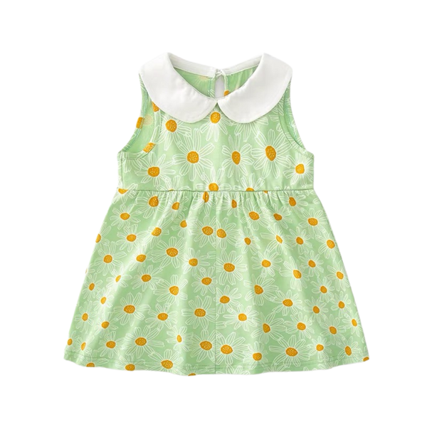 Summer Sweet Collar Dress Bloom