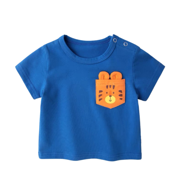Fun Pocket Tee Tiger