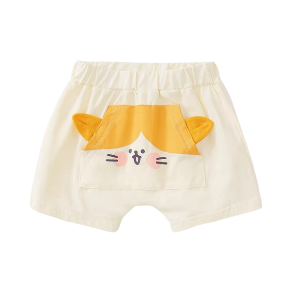 Summer Breathable Shorts Meow