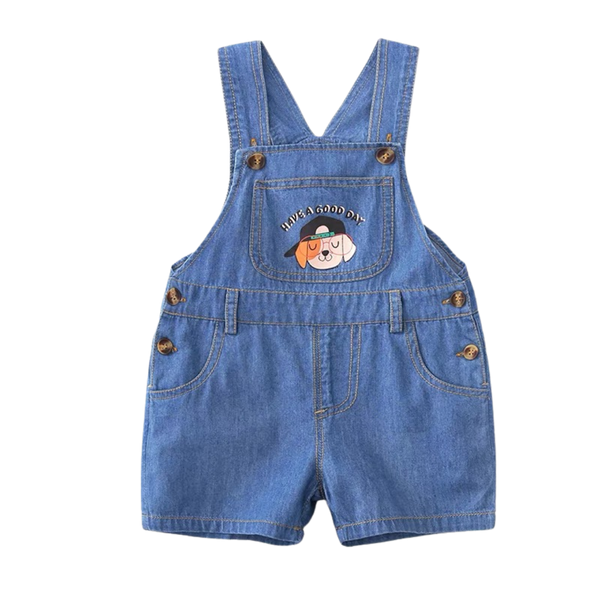Puppy Soft Denim Playsuit