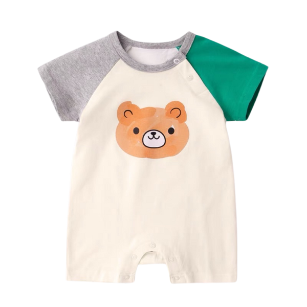 Zoo Baby Bodysuit Bear