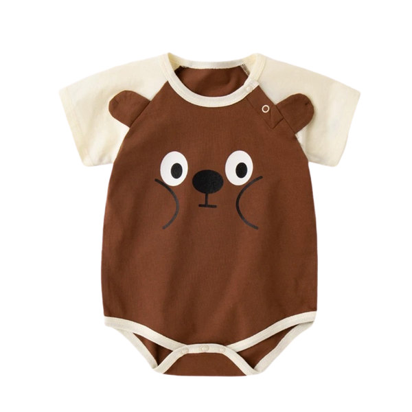 Everyday Basic Bodysuit Silly Bear