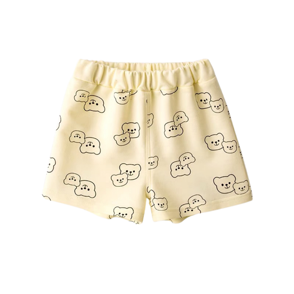 Summer Jersey Shorts Bear Taupe