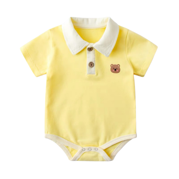Baby Polo Bodysuit Bear