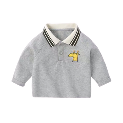 Gabe Handsome Series Polo Shirt Harbour Grey