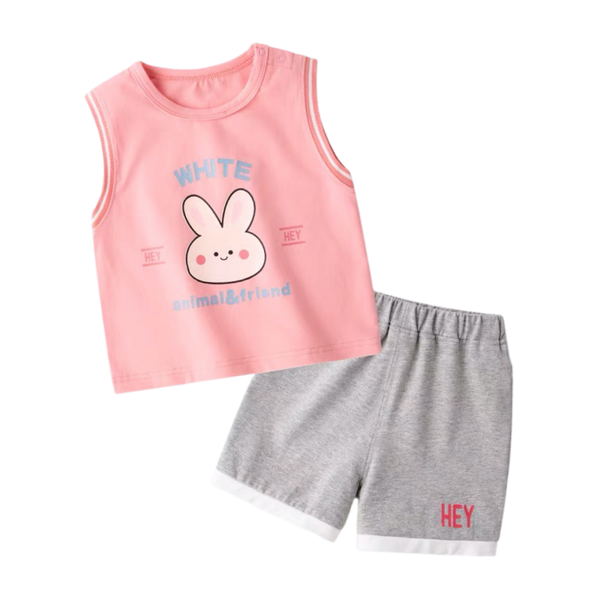 Animal&Friends Sleeveless Set Bunny