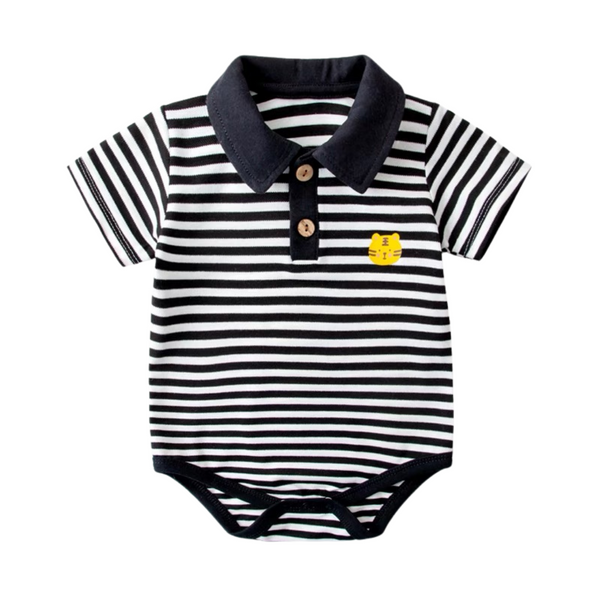 Baby Polo Bodysuit Tiger