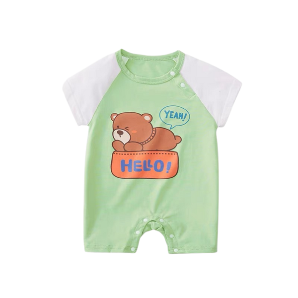 Summer Playsuit Bear