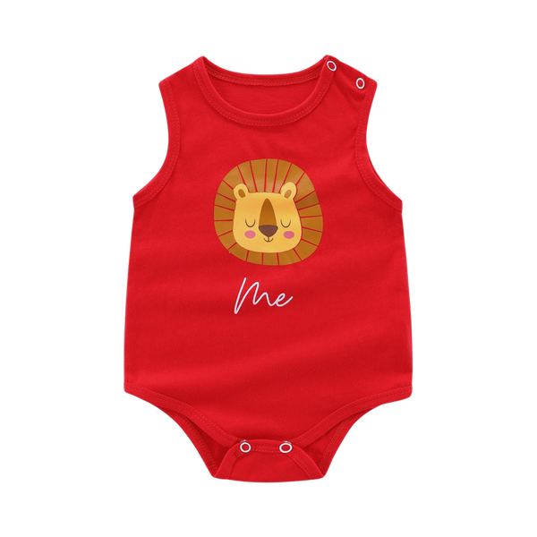 """Family Twinning Me"" Sleeveless Baby Bodysuit"