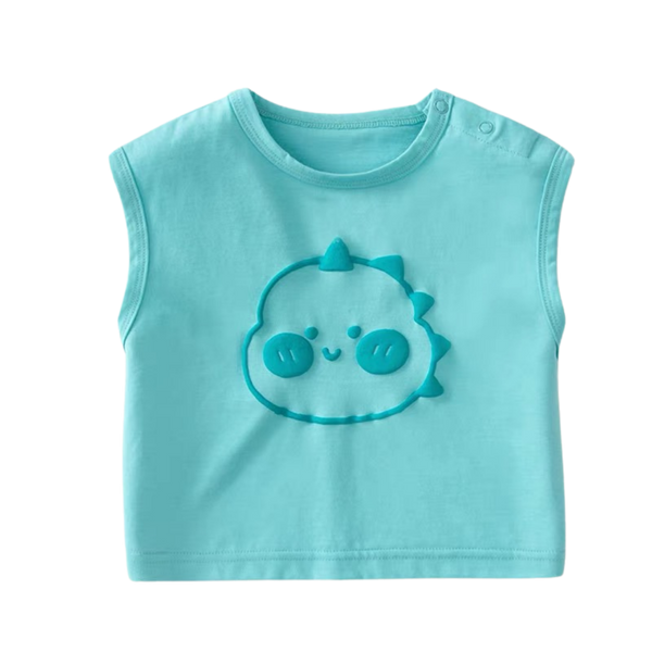 Party Summer Singlet Teal