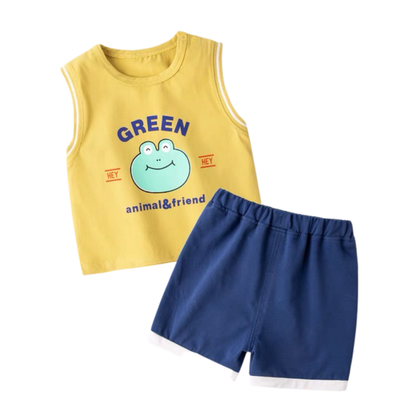 Animal&Friends Sleeveless Set Froggy