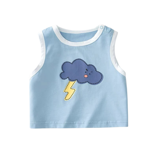 Happy Summer Singlet Lightning