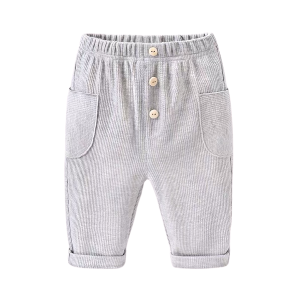 Soft Pocket Jogger Pants Dove Grey