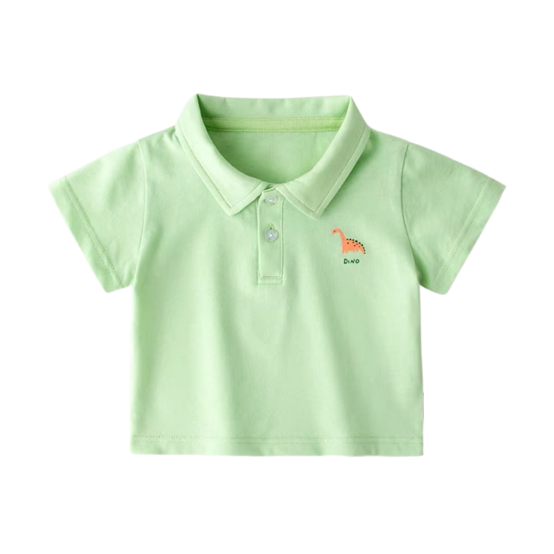 Dinosaur Polo Tee Peppermint