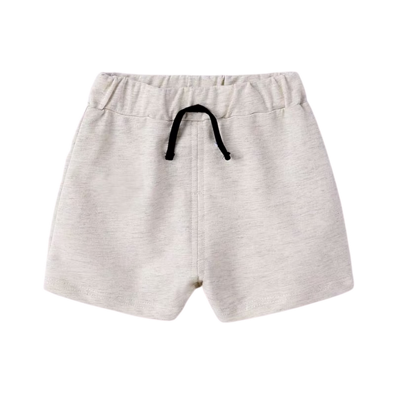 Gabe Kids Relaxed Shorts Stone Grey