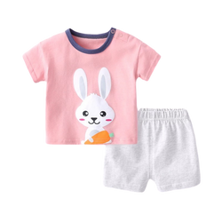 Cotton Soft Tee Set Chubby Bunny