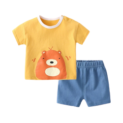 Cotton Soft Tee Set Ted Bear