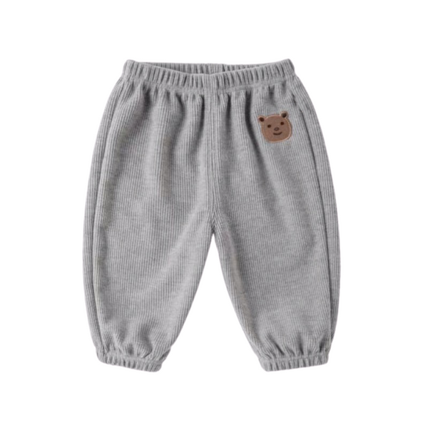 Comfy Easy Pants Grey Bear
